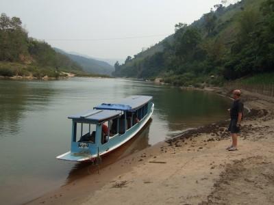 Zwischenstopp am Nam Ou