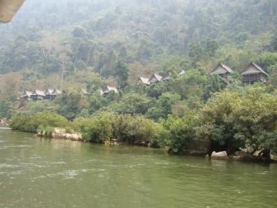 Nong Khiaw Haeuser