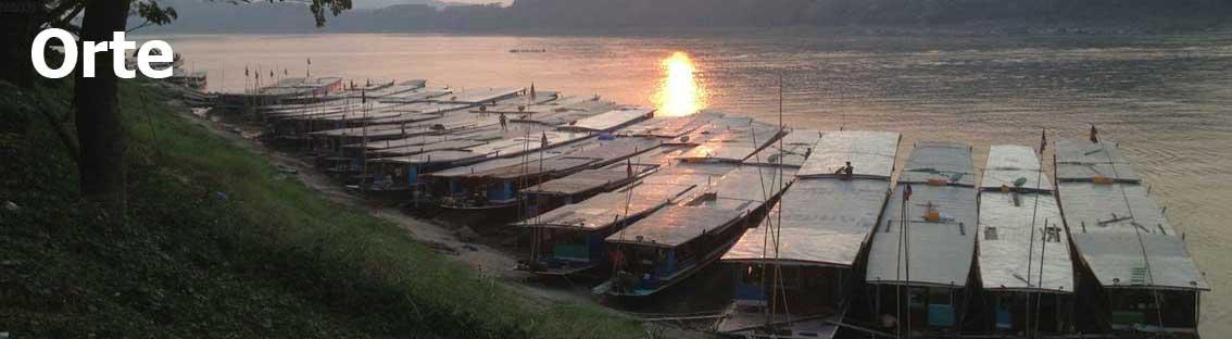 Orte in Laos