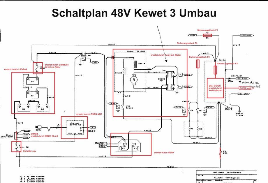 Schaltplan Kewet 3 48V neu