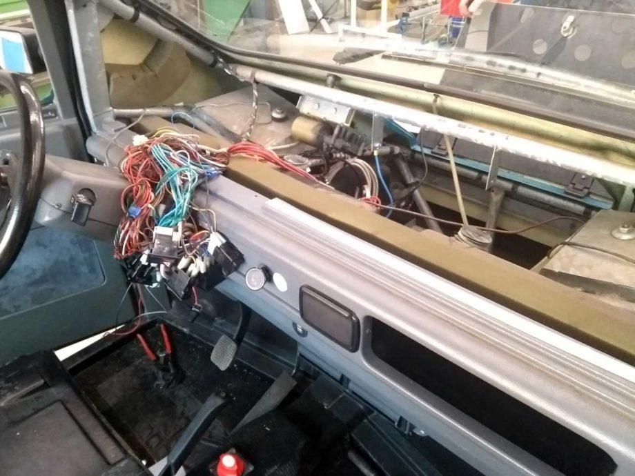 Kewet Cockpit ausgebaut