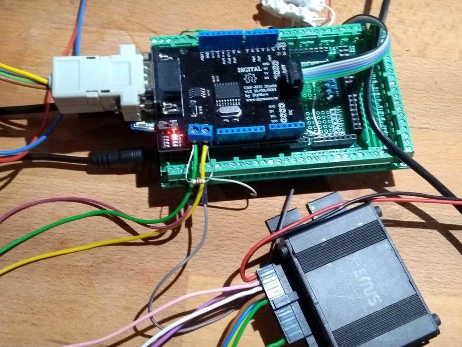Arduino mit EMUS BMS