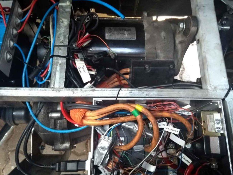 Motorcontroller Box im Kewet
