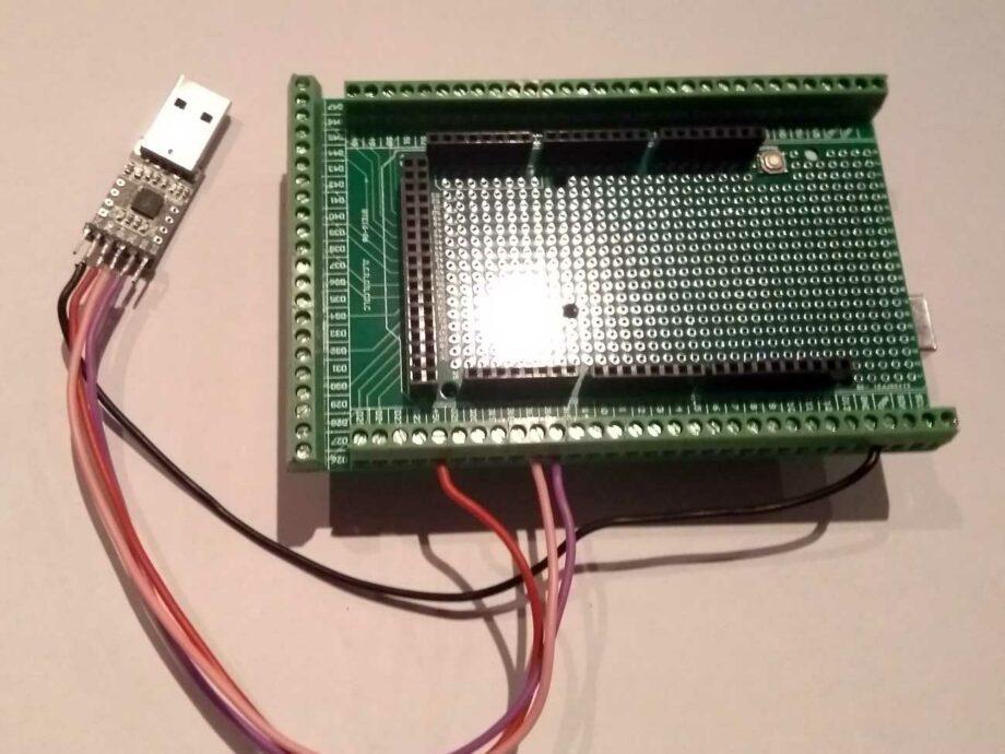 CP2102-Screwshield-Arduino
