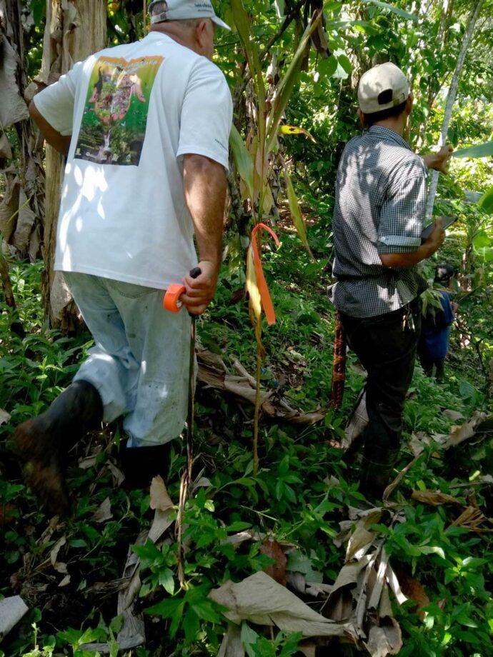 Topografo in Costa Rica